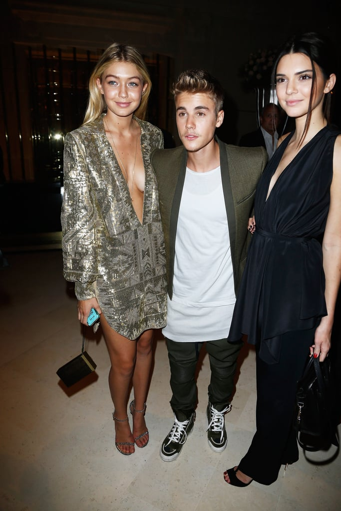 She even rolls with Justin Bieber.