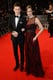 Eddie Redmayne and Hannah Bagshawe at the 2014 BAFTA Awards.
