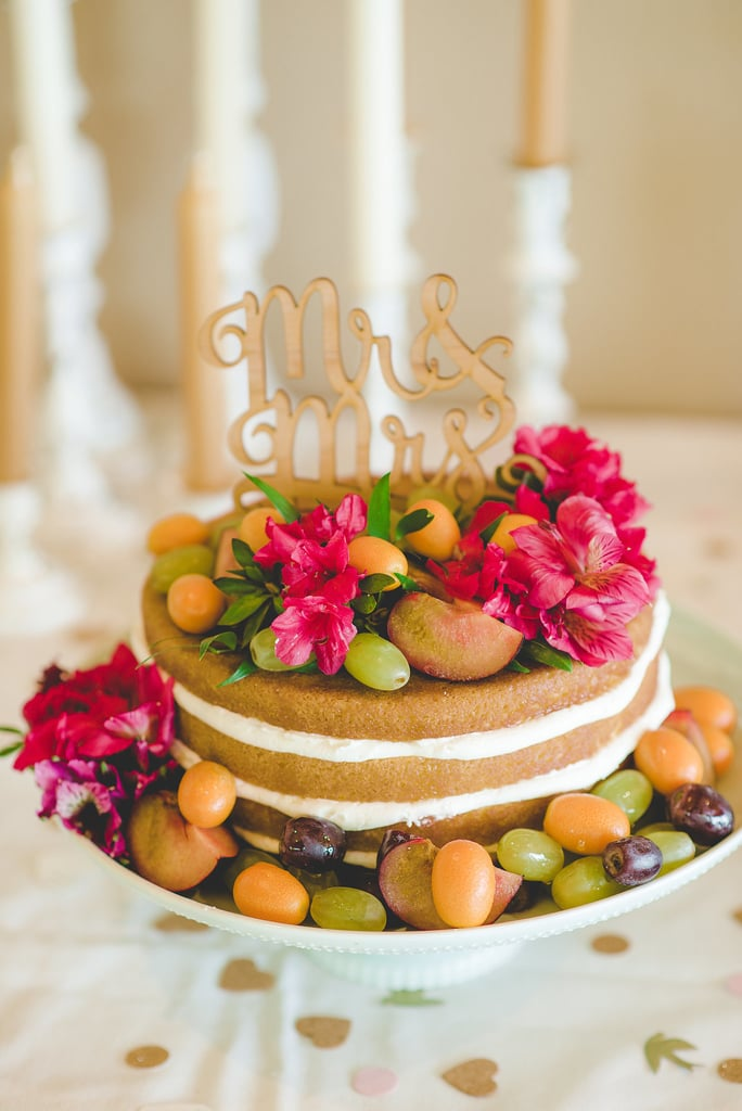"""""""Divine"""" doesn't even begin to describe this sweet fruit-covered naked cake."""