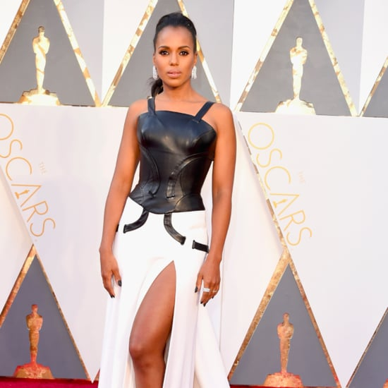 Kerry Washington Talks Oscars Controversy on Red Carpet