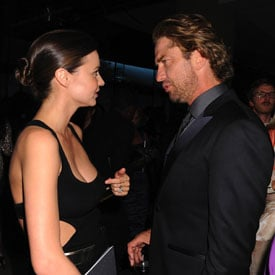 Miranda Kerr Pictures After CFDA Awards With Ashley Greene and Gerard Butler