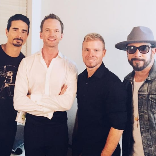 Neil Patrick Harris Performs With Backstreet Boys