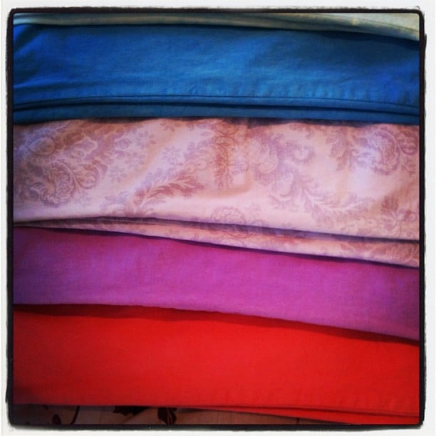 We love! J Brand jeans in every single colour and print imaginable, just in time for Spring.