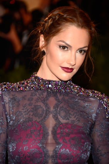 Minka-Kelly-tousled-braid-paired-sultry-look-matched-her