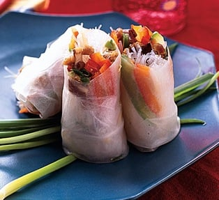 Fast & Easy Recipe For Summer Rolls