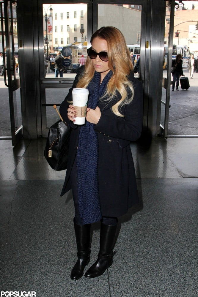 Lauren Conrad was ready for a train ride to Philly.