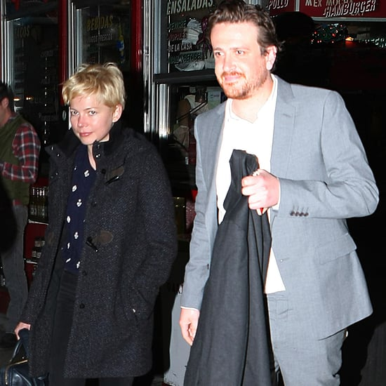 Jason Segel and Michelle Williams Pictures at La Esquina