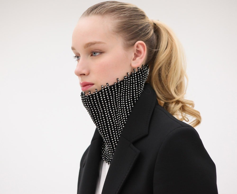 We never thought we'd say this, but we think everyone needs a Maison Martin Margiela crystalized neck warmer ($1,065). This is definitely an aspiration gift for any styler, but wow, what a way to adorn your neck with warmth, huh?