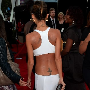 Nicole Richie Dress at American Music Awards 2013