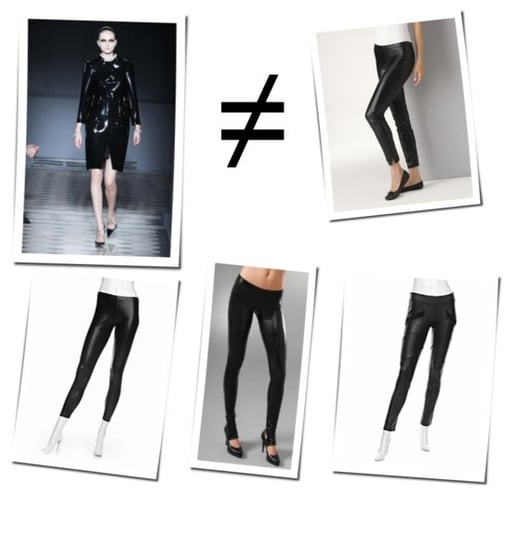 The Trend We're All About To Hate: Latex Leggings