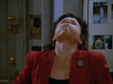 When Elaine Forgets How to Swallow