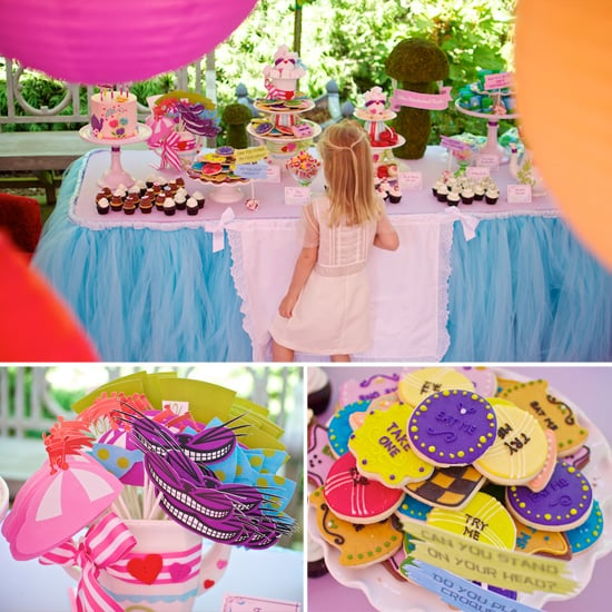 Fall Down the Rabbit Hole and Into This Alice in Wonderland Birthday Party
