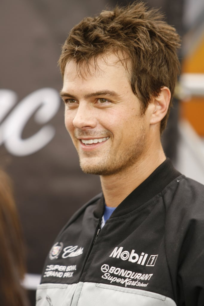 Josh suited up during the 5th Annual Cadillac Super Bowl Grand Prix in Miami Beach, FL, in February 2007.