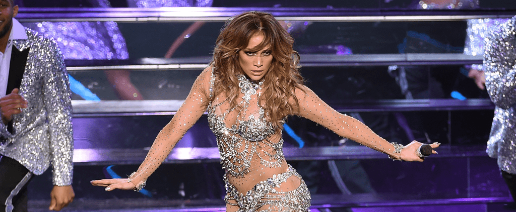 J Lo Just Proved the Sheer Bodysuit Is the Most Popular Performance Look