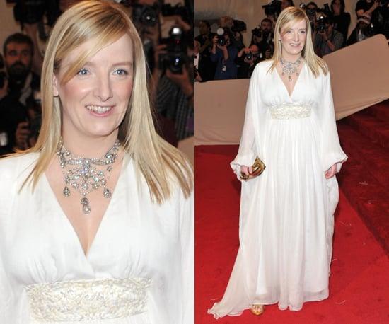 Sarah Burton 2011 Met Gala