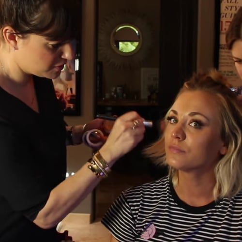 Kaley Cuoco's Makeup at the 2016 Grammy Awards