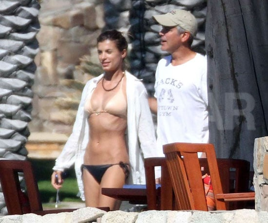Slide Picture of George Clooney and Elisabetta Canalis in Cabo