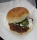 Mexicue's Burnt Ends Chili Slider