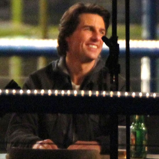 Pictures of Tom Cruise and Jeremy Renner on the Set of Mission Impossible: Ghost Protocol in Vancouver