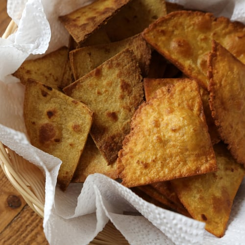 Baked and Fried Tortilla Chips