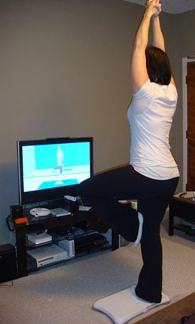 Wii Fit Fitness Journal: Week One
