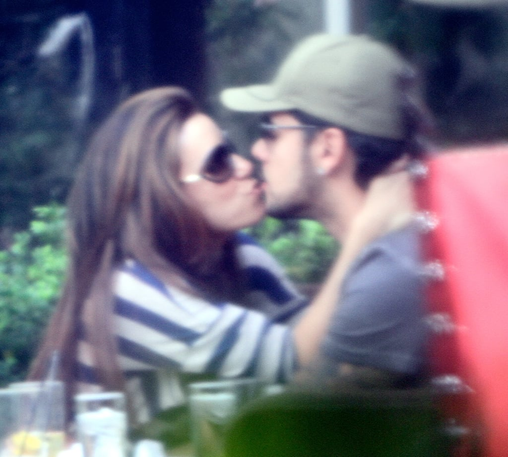 Pics: Eva Longoria Kisses Eduardo Cruz Over Chateau Marmont Lunch!