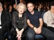 Robert Pattinson showed off his freshly shaved head next to Betty White.