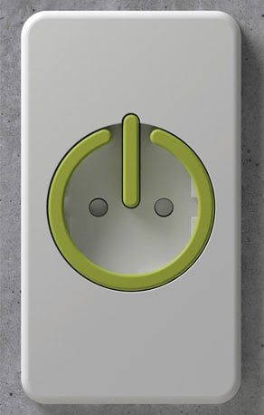 Photos of the Switched Electrical Outlet