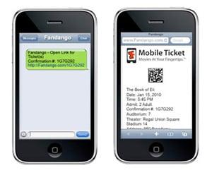 Fandango Debuts Mobile Movie Tickets