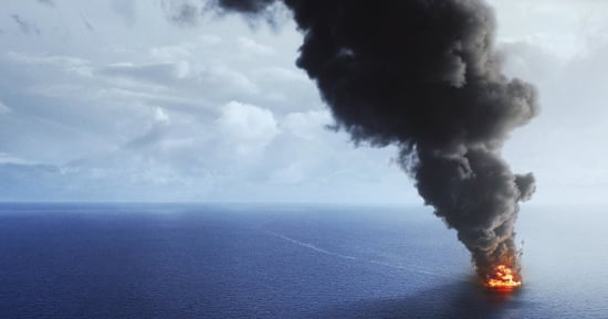 The First 'Deepwater Horizon' Poster Readies The BP Oil Spill For The Big Screen