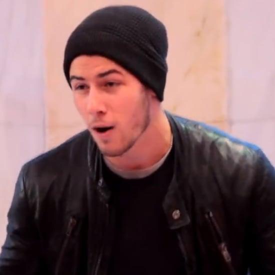 "Nick Jonas Performing ""Jealous"" on FAO Schwarz's Big Piano"