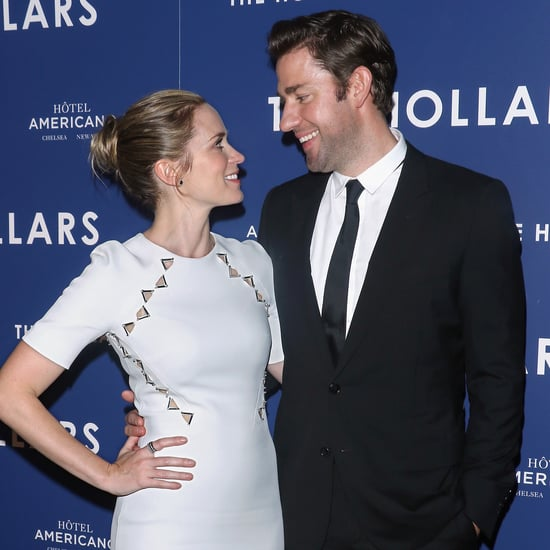 John Krasinski Talking About Emily Blunt's Acting 2016