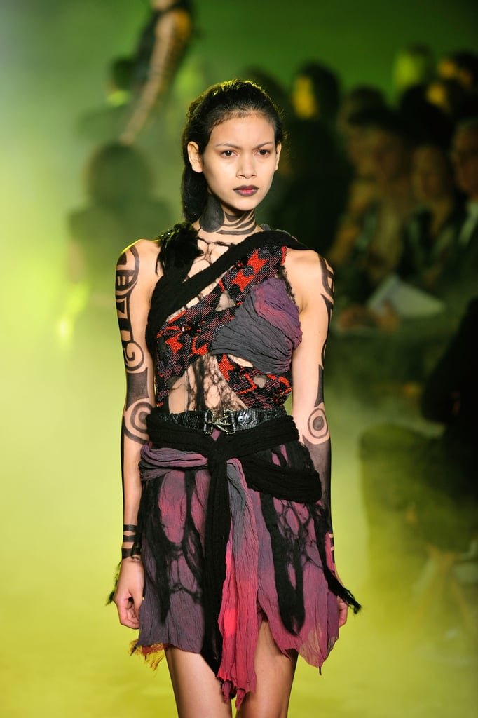Rodarte, Inspired by Death Valley and Vultures, Go Goth Tribal Warrior for Spring 2010