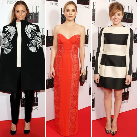 Elle UK Style Awards 2013 Celebrity Dresses