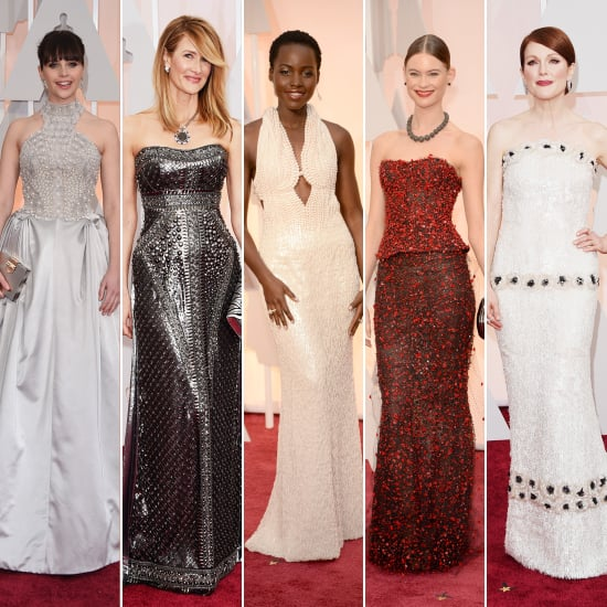 Embellished Dresses at the Oscars 2015