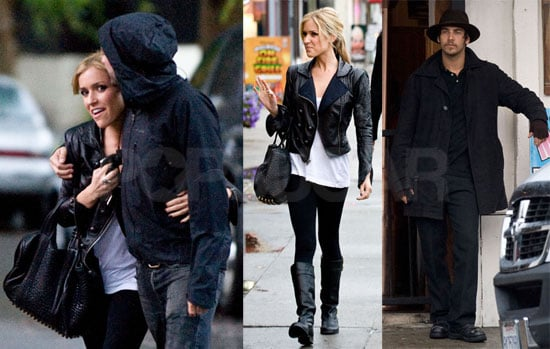 Photos of Justin Bobby And Kristen Cavallari Filming The Hills