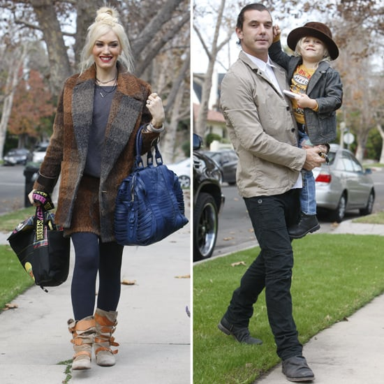 Gwen and Gavin Have a California Thanksgiving With the Boys