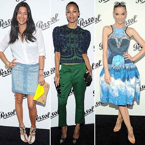 Who's Most Fab? Zoe Saldana, Rebecca Minkoff & Jaime King At The Persol Party