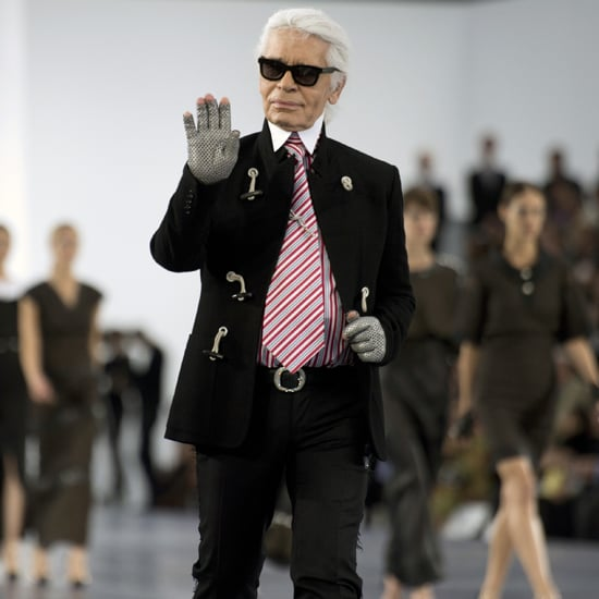 Karl Lagerfeld Says He's Never Going to Retire