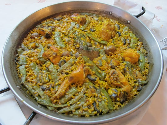 Chicken/Rabbit Paella from L'Alter in Picassent, Spain