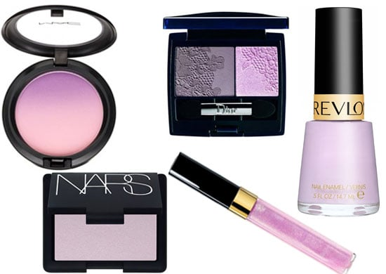 2010 Lilac Makeup Looks, Makeup Trends for Spring 2010