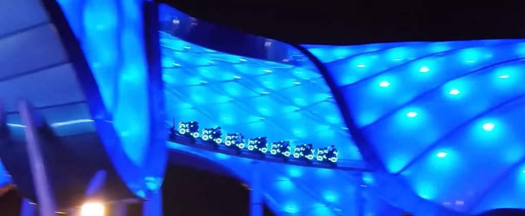 The Tron Roller Coaster at Shanghai Disney Is Everything We Imagined and More