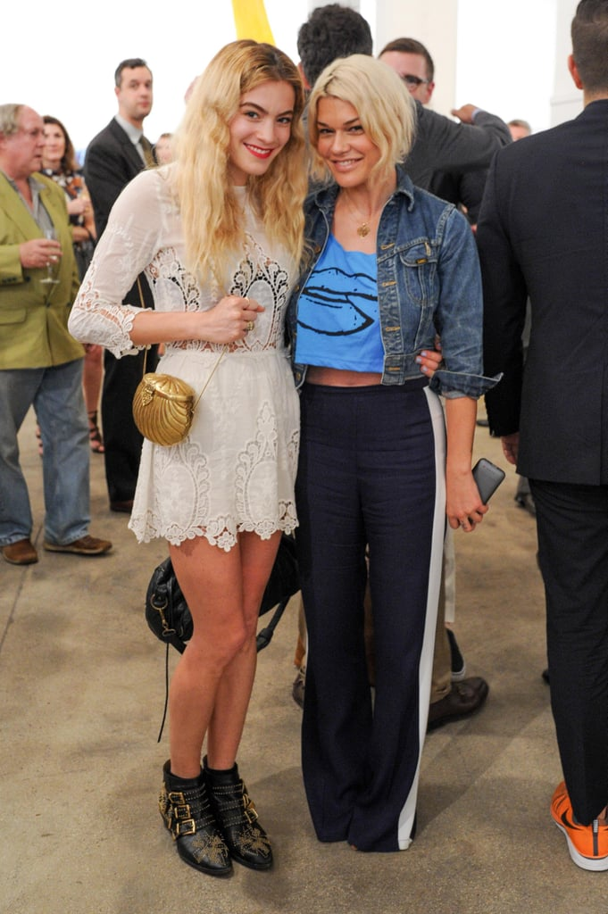 Chelsea Leyland and Jenne Lombardo at a party for ACRIA in New York. Source: Neil Rasmus/BFAnyc.com
