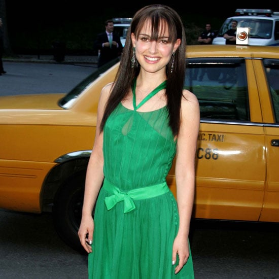 Natalie was decked out in green for a charity event in NYC in 2004.
