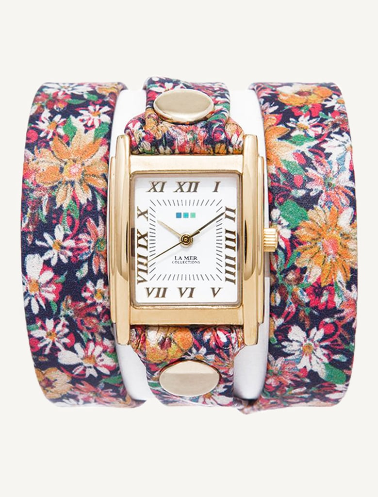 La Mer Limited Edition Daisy Chain Wrap Watch ($92)