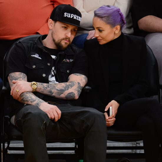 Nicole Richie and Joel Madden at LA Lakers Game | Pictures