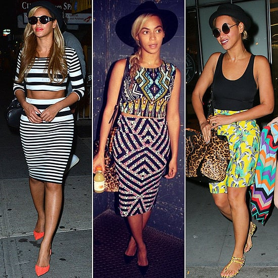 We felt like little fashion spies when we caught onto Beyoncé's new love affair with Topshop. She gave us not one, not two, but six looks from the British retailer!