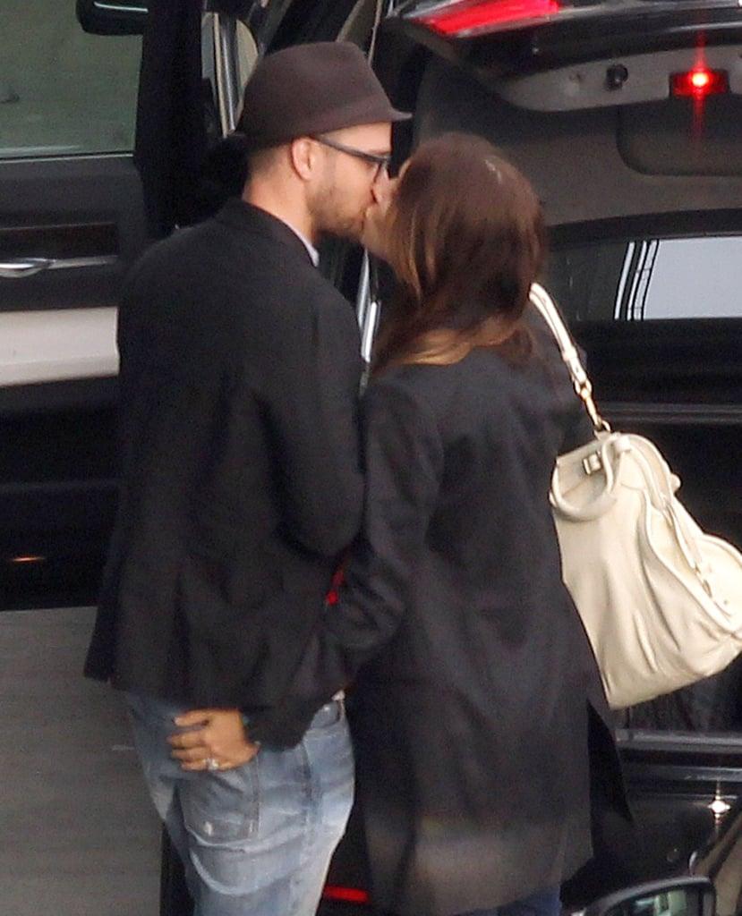 Jessica Biel and Justin Timberlake Show Love in London