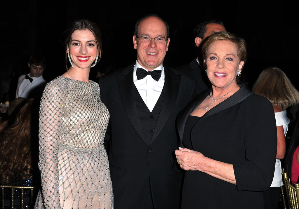 Anne Hathaway, Prince Albert and Julie Andrews