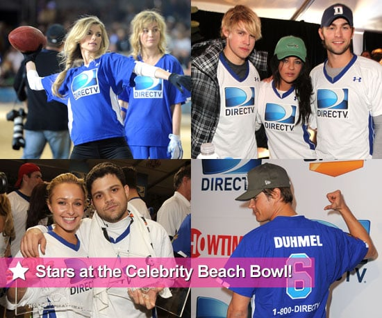 Chace Crawford, Jessica Szohr, Hayden Panettiere, Josh Duhamel and More at 2011 Celebrity Beach Bowl